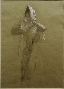 G.Klimt, Stehende junge Frau von AKG  Images