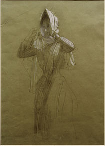 G.Klimt, Stehende junge Frau by AKG  Images