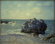Langland Bay Storrs Rock Morning / A. Sisley / Painting, 1897 by AKG  Images