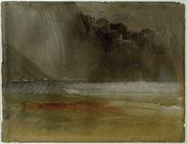 W.Turner, Getürmte Gewitterwolke über Meer und Strand von AKG  Images