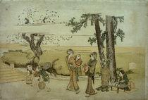 Hokusai, Oji / Farbholzschnitt 1801–1804 by AKG  Images