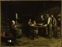 Max Liebermann, Das Tischgebet / Gemälde, 1885/86 von AKG  Images