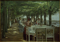 M.Liebermann, Terrasse im Restaurant Jacob in Nienstedten von AKG  Images