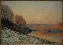 A. Sisley, Schnee in Port-Marly, weißer Frost by AKG  Images