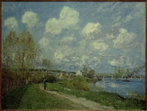 A.Sisley, Sommer in Bougival by AKG  Images