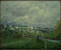 A.Sisley, Die Seine bei Saint-Cloud by AKG  Images