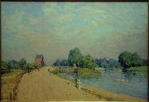 A.Sisley, Straße nach Hampton Court by AKG  Images