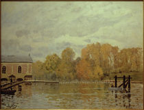 A.Sisley, Überschwemmung in Marly by AKG  Images