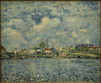 A.Sisley, Die Seine bei Tagesanbruch by AKG  Images