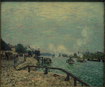 A.Sisley, Die Seine bei Grenelle by AKG  Images