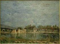 A.Sisley, Die Brücke von Saint-Mammès by AKG  Images
