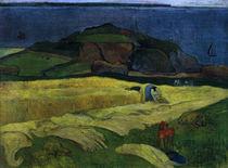 Gauguin, Die Ernte am Meer: Le Pouldu von AKG  Images