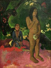 P.Gauguin / Parau na te varua ino by AKG  Images