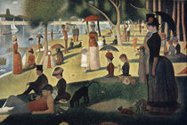 Seurat, G. / Sonntag Nachmittag/ 1885 by AKG  Images