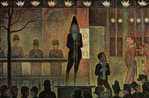 G.Seurat, Circus parade / 1887 by AKG  Images