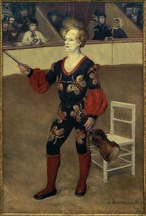A.Renoir, Der Zirkusclown von AKG  Images