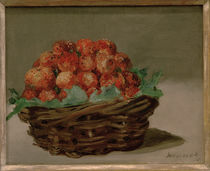 Edouard Manet, Strawberry basket by AKG  Images