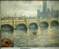 Monet / Bridge over the Thames / 1903 by AKG  Images