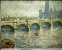 Monet / Pont sur la Tamise/ 1903 von AKG  Images