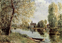 Sisley / Spring in Moret-sur-Loing by AKG  Images