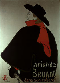 Toulouse-Lautrec / Aristide Bruant by AKG  Images