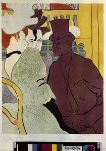 Toulouse-Lautrec / Engländer im Moulin R. von AKG  Images