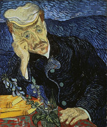 van Gogh / Portrait of Dr. Paul Gachet by AKG  Images