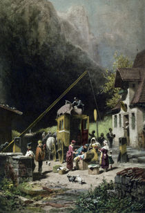 Carl Spitzweg, Only thoughts are tax-free by AKG  Images