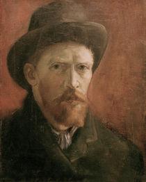 van Gogh / Self-portrait (?) /  c. 1886 by AKG  Images
