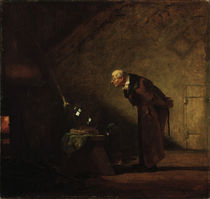 C.Spitzweg, The Alchemist by AKG  Images
