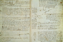 Leonardo da Vinci / Hammer Codex / 1506 by AKG  Images