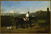 Taking a Ride / A. De Dreux / Painting 1852 by AKG  Images