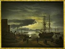 Kopie nach Dahl / Kopenhagener Hafen/1840 by AKG  Images
