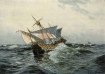 Kolumbus Schiff St. Maria / Schreckhaase von AKG  Images