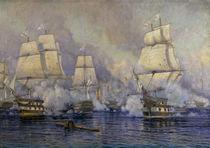 Battle of Navarino / Tkatchenko by AKG  Images