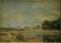 A.Sisley, Staudamm des Loing in Saint-Mammès by AKG  Images