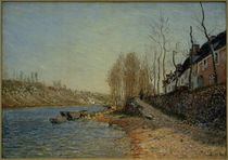 Alfred Sisley, Das Croix-Blanche in Saint-Mammès by AKG  Images