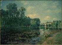 A.Sisley, Flußbiegung des Loing, Sommer by AKG  Images