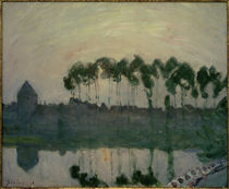 A.Sisley, Sonnenuntergang bei Moret von AKG  Images
