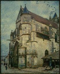 A.Sisley, Eine alte Kirche am Nachmittag von AKG  Images