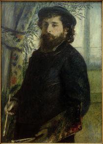 Claude Monet beim Malen / Gem.v. A.Renoir by AKG  Images