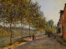 Alfred Sisley, Junimorgen in Saint-Mammes by AKG  Images