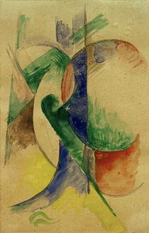 Franz Marc, Abstrakte Komposition by AKG  Images
