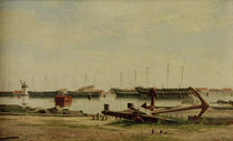 Ch. W.Eckersberg, Blick auf Nyholm by AKG  Images