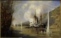 Attacke der Schutka 1877 / Bogoljubow von AKG  Images