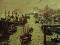 U.Hübner, Hamburger Hafen von AKG  Images