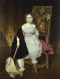 F. v. Rayski, Kinderbildnis/ 1850 von AKG  Images