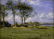 Peder Mørk Mønsted, Spring Landscape by AKG  Images