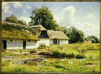 Peder Mørk Mønsted, Summer's Day at the Farm by AKG  Images
