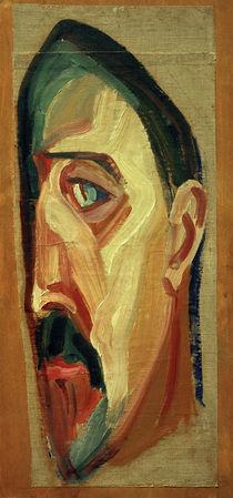 M.W. Matjuschin / Selbstporträt, 1917 by AKG  Images